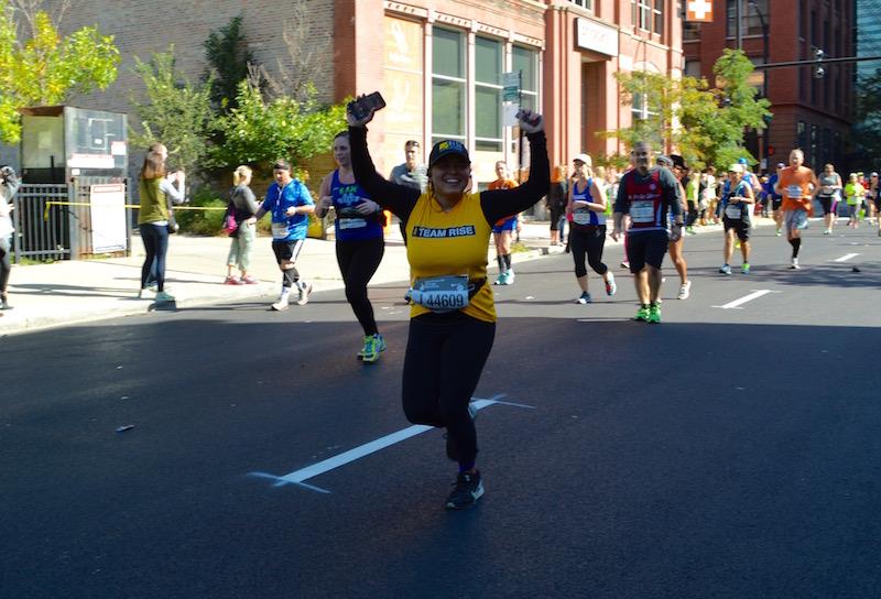 Jordan in the marathon
