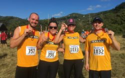 Team RISE in the Virgin Islands