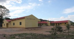 front view of lucunga school