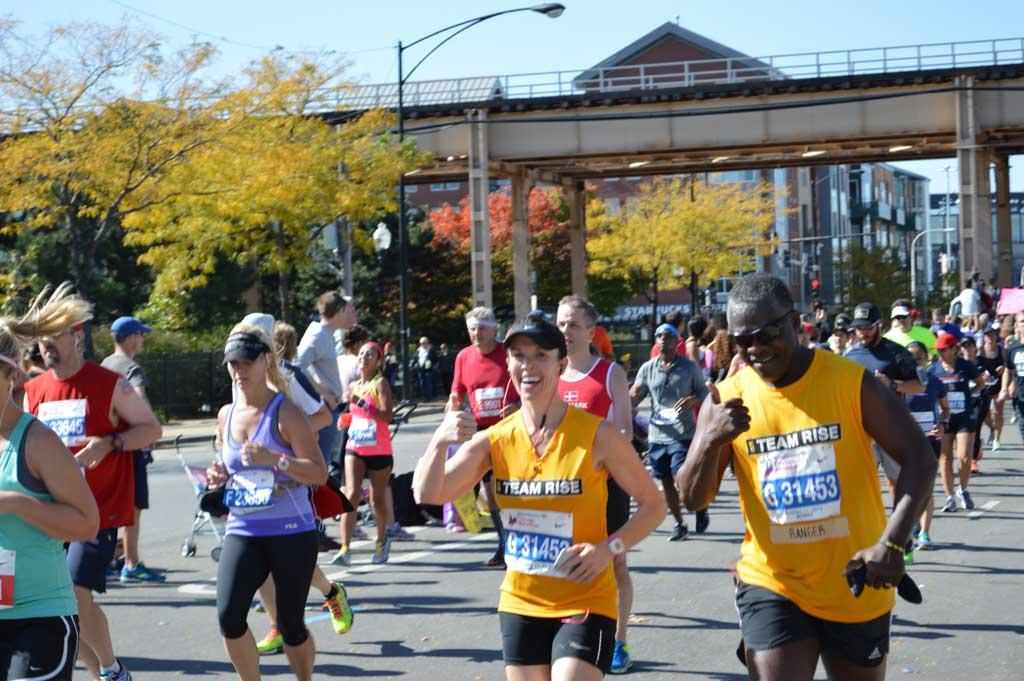 Chicago Marathon 2015
